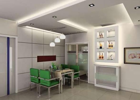 客厅吊顶造型示意图-美家网-专业装修建材门户