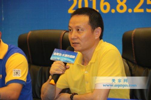 佛山市陶瓷行业协会秘书长罗青