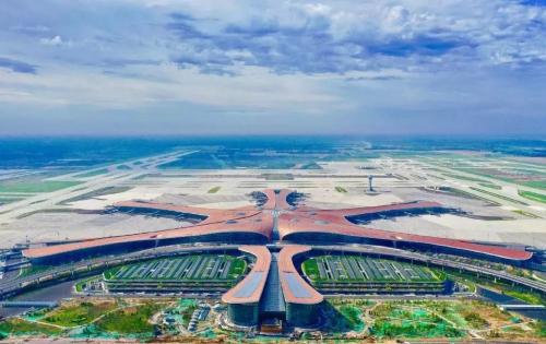冠珠陶瓷助力北京大兴国际机场腾飞,为强大未来添砖加瓦!